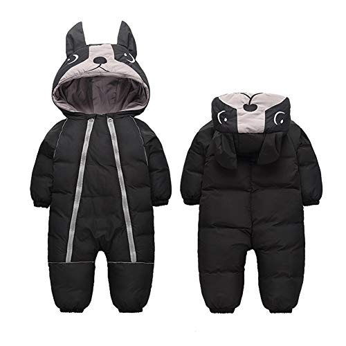 Fairy Baby Infant Boy Girl Winter Thick Romper Outwear Warm Hood Snowsuit Jumpsuit Size 2T - Suit Sleeping Baby Body