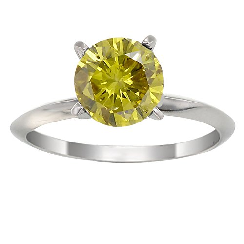 Yellow Diamond Rings - 2
