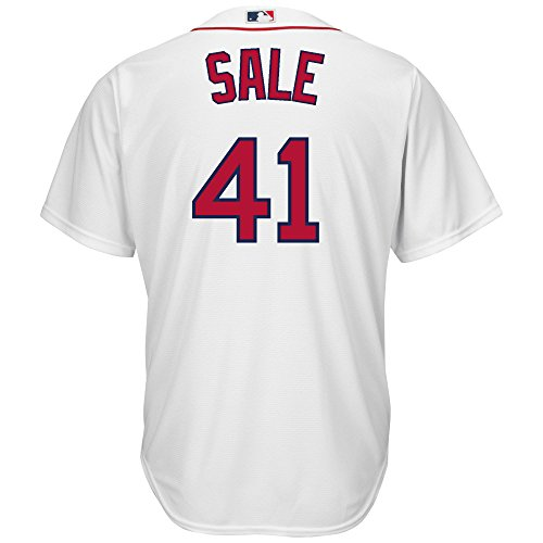 Amazon.com : Chris Sale #41 Boston Red Sox Majestic Youth Cool ...