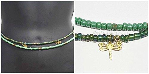 Waist Beads, Beaded Belly Chain, Seed Beads, African Waist Beads, Women's Jewelry, Body Jewelry, Minimalist Jewelry, Women's Body Jewelry, (Beaded Belly Chain)