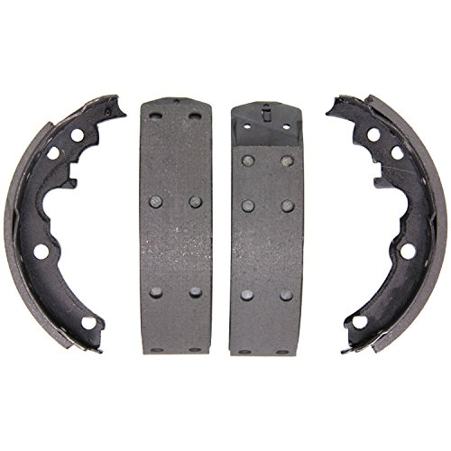 Wagner Z553R Riveted Brake Shoe Set, Rear