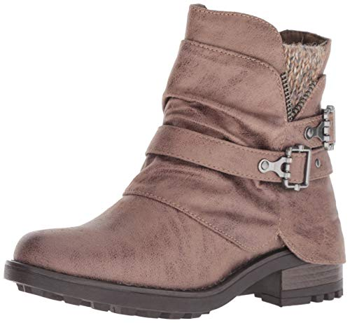 Carlos by Carlos Santana Women's Shaw Ankle Boot, Taupe, 8 M US