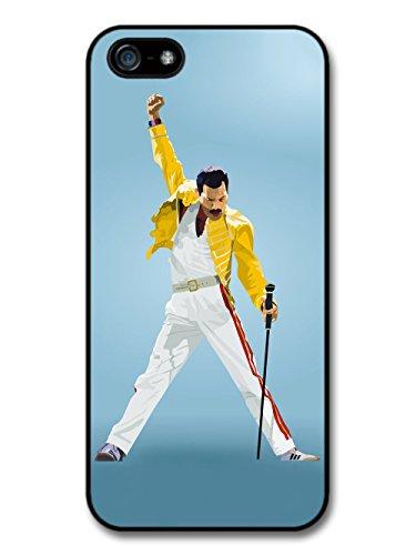 Freddie Mercury Queen Yellow Jacket coque pour iPhone 5 5S