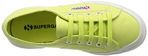 Superga 2750 Linu, Sneakers Stringate Da Donna Verde (sunny Lime Sd37)
