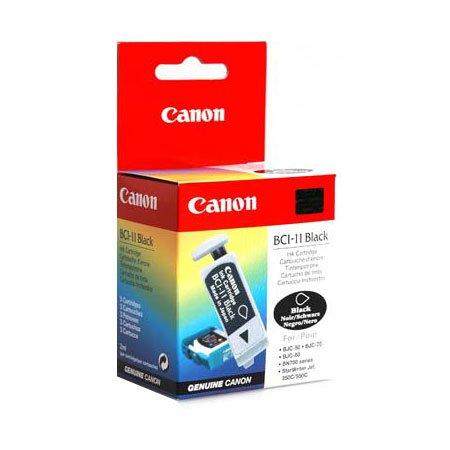 1 X New Genuine Canon BCI-11 Black Tri-Pack Ink Cartridge BCI11 Retail Box ; BJC55