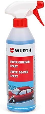 Würth Enteiser Spray Super Scheibenenteiser 500ml Baumarkt