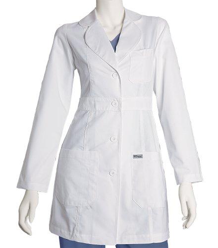 Grey's Anatomy Women's Junior Fit 34-Inch Three-Pocket Princess-Seamed Lab Coat