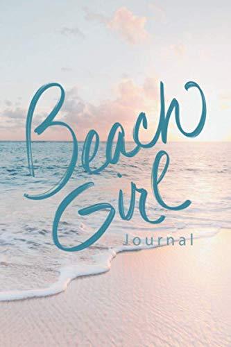 Beach Girl Journal: Dot Grid Notebook Diary