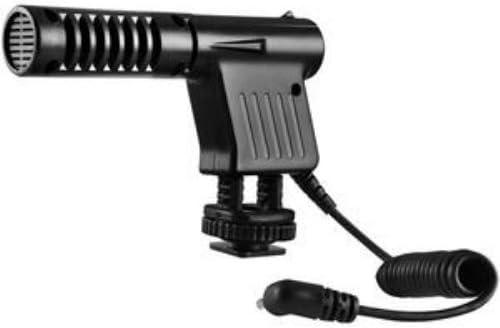 Mini Zoom Video Camera Shotgun Microphone for Canon Vixia HFM50 ...