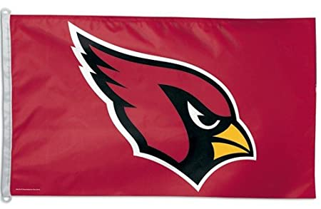 Amazon.com : NFL Arizona Cardinals 3-by-5 foot Logo Flag : Sports ...