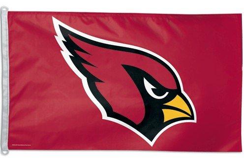Athletic Cardinal Head - NFL Arizona Cardinals 3-by-5 foot Logo Flag