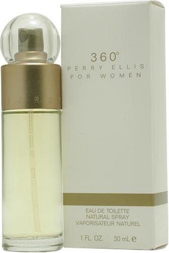 Perry Ellis 360 De mujer con correa reloj De mujer con esfera agua De perfume placa