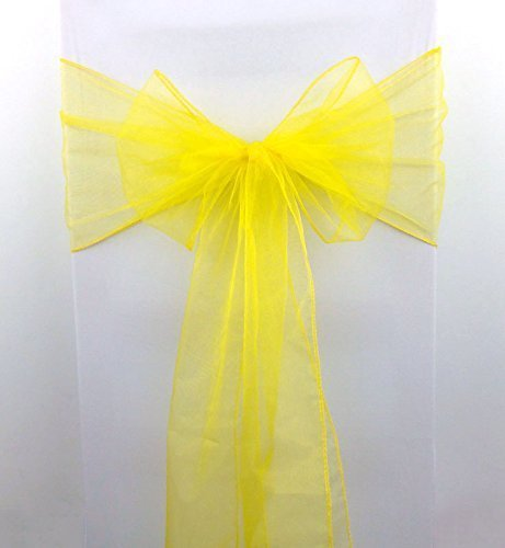 Yellow Silk Organza - 7