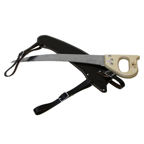 24'' Fanno Saw with Leather Scabbard by Outfitters Supply