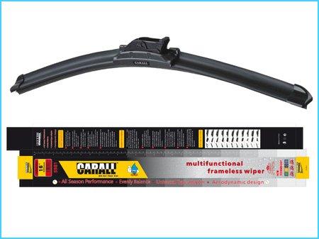 Cepillo de Coche Universal Para Limpiaparabrisas 18 450 mm Empalmes 10 CARALL S981 Solo Caucho Flexible: Amazon.es: Coche y moto