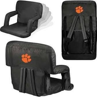 Stadium Tigers Cushion Clemson - NCAA Clemson Tigers Ventura Portable Reclining Seat