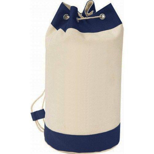 Amazon.com: Heavy Duty Canvas Sport Travel Drawstring Backpack ...