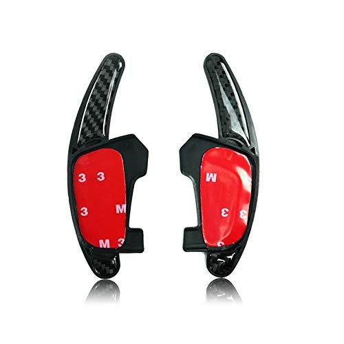 DSG Paddles Carbon Fiber DSG Paddle Shift Shifter Extensions for 2013 + VW Golf MK7 Scirocco Polo R GTI - Scirocco Vw Shift
