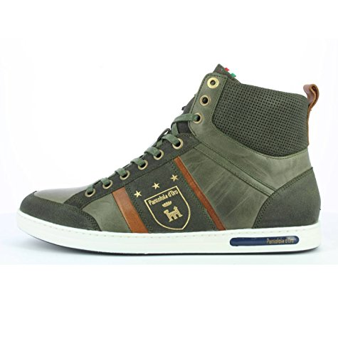 Verde a Mondovi Pantofola Alto Olive Sneaker d'Oro Collo Mid Uomo 52a wFp5q8pIn