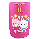 George Jimmy Cask Shape Swimming Bag Sport Equipment Bags Cute Rabbit Waterproof Bags