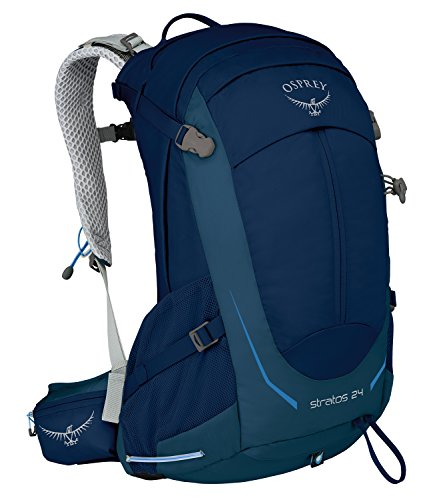 Osprey Packs Osprey Stratos 24 Backpack, Eclipse Blue, o/s, One Size