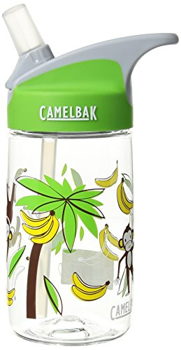 Discontinued Monkey - CamelBak eddy Kids Bottle, Monkey Around, .4 L