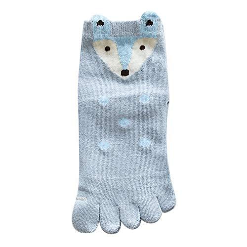 Five Finger Socks,G-real Toddler Baby Kids Girls New Cute Baby Girls Animal Design Toe Socks