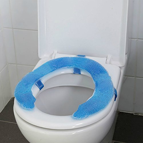 OraCorp Remedy Health Sanitary Soft Gel Toilet Seat Cushion