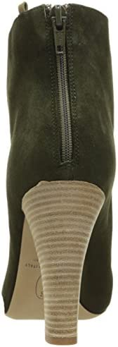 SJP by Sarah Jessica Parker Women's Minnie Ankle Bootie, Olive Suede, 39.5 EU/9 M US