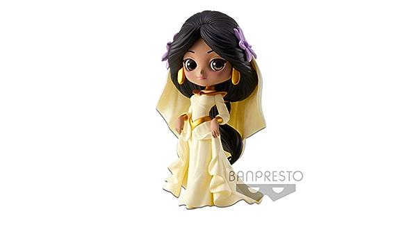 Disney Characters Q posket Petit Aladdin Jasmine Megara 3 Set 100/% Authentic F//S
