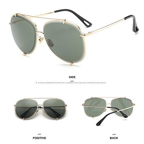 De Sol De Gafas del La Al Y De De Sol Protección Aire Libre Green Moda De Los De Recorrido La De Gafas Sol Ultravioleta Hombres La Gafas Playa v54wAA