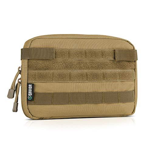 Admin Pouch - Savior Equipment Tactical Military MOLLE Admin Pouch Modular Utility Tools Multi-Purpose EDC Waist Belt Organizer Bag