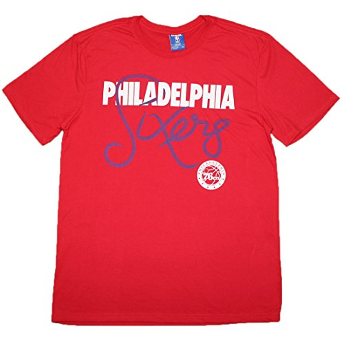 NBA Mens PHILADELPHIA 76ERS: Athletic Short Sleeve T Shirt S Red by NBA