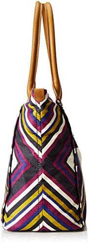 Kipling Life Saver, Shopper Donna, Multicolore (REF33L Boho Fest), 45 x 32 x 20 cm (B x H x T)