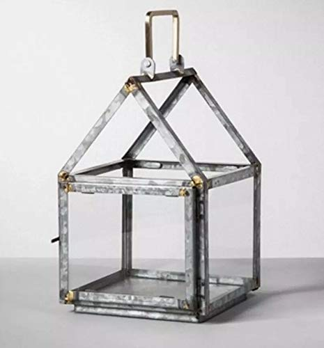 Galvanized House Lantern