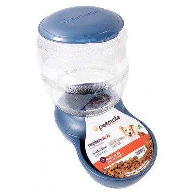 Replendish Pet Auto-Feeding System with Microban Color: Peacock Blue