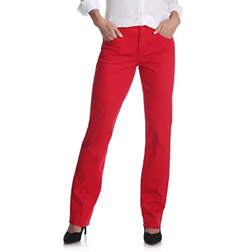 (Riders by Lee Indigo Women's Classic-Fit Straight-Leg Jean, Jalapeno Red, 16)