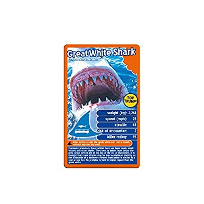 Predators Top Trumps Card Game: Toys & Games