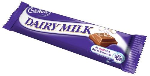 Amazon.com : Cadbury Dairy Milk Chocolate Bar 140g England (12 ...