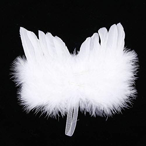 Mini Angel Wings - UTENEW Angel Feather Wings for Crafts