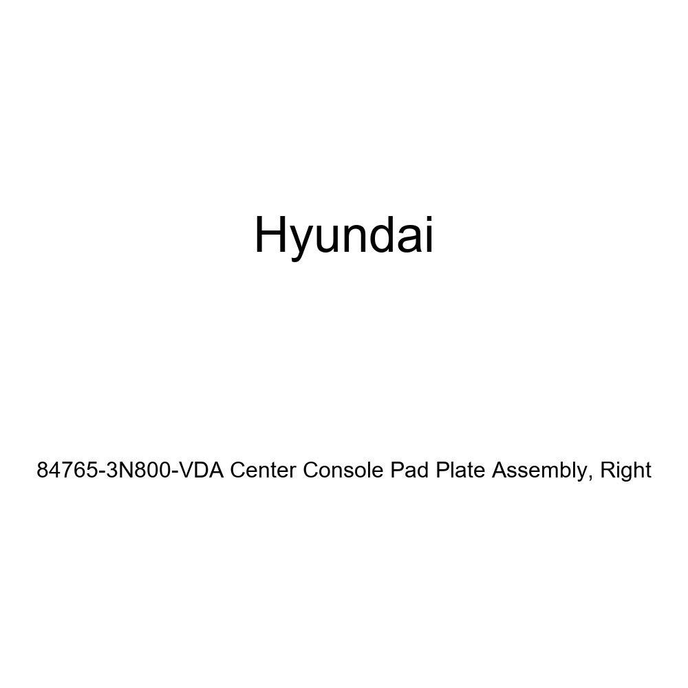 Genuine Hyundai 84765-3N800-VDA Center Console Pad Plate Assembly Right