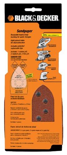 Black & Decker Iron Sandpaper - 1