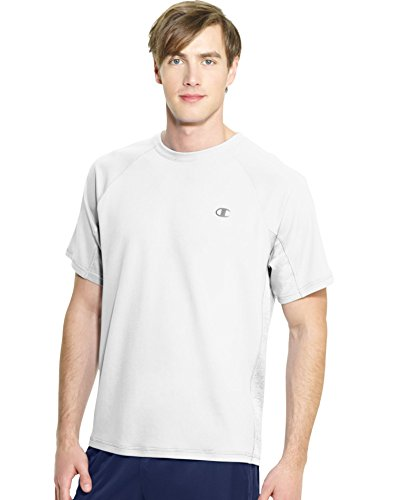Champion Men's Powertrain Performance T-Shirt, White, XX-Large