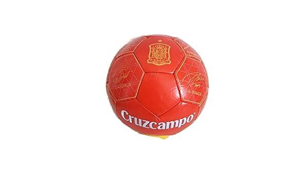 Balón de la selección española cruzcampo: Amazon.es: Deportes y ...
