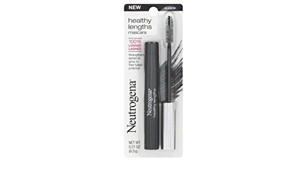 Amazon.com : Neutrogena Healthy Lengths Mascara, Black 02 (0.21oz/6g) : Beauty