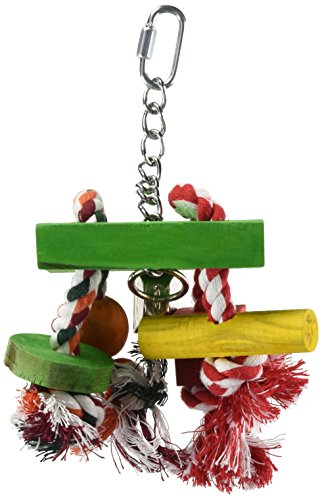 Junglewood Rope Chime with Bell, Cylinder, Block & Bead ()