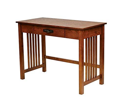 Оfficе Stаr Sierra Solid Wood Writing Desk with Drawer, Ash Finish