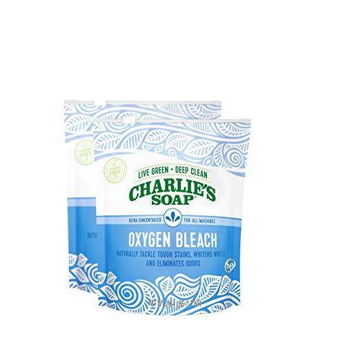 Charlie's Soap - Non-Chlorine Oxygen Bleach - 2.64 lb (2-Pack)