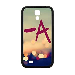 A in neon light Cell Phone Case for Samsung Galaxy S4