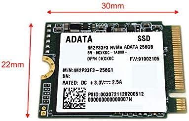 ADATA 256GB M.2 2230 SSD NVMe PCIe Gen3 x4 IM2P33F3-256G1 Compatible with Dell 0KXKKC KXKKC
